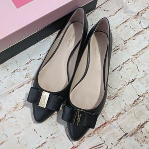 Kate Spade Norah Bow Pointed Pointy Flats